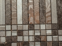 Metallic Mosaic Square Strip