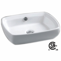 CSA H-3065 Oval Vessel Sink