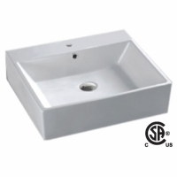 CSA 6026-1 Rectangular Vessel Sink