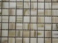 Ivory Glass Mosaic