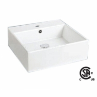 CSA 6026-2 Square Vessel Sink
