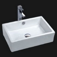 6082 Rectangular Vessel Sink